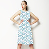 Winter Floral Tiles Collection2 (Dress)