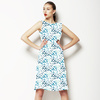 Winter Floral Tiles Collection4 (Dress)