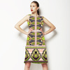 Border Print (Dress)