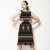 Linear Batik Tribal Pattern 1 (Dress)