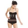 Linear Batik Tribal Pattern 1 (Swimsuit)
