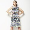 Striped Palm Tree (Dress)