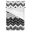 Black and White Zig Zags (Bed)