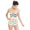 Zig Zag Stripes (Swimsuit)