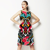 Bright Colorful Paisley Pattern. Seamless Pattern (Dress)