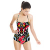 Bright Colorful Paisley Pattern. Seamless Pattern (Swimsuit)