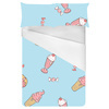 Icecream & Doughnut Conversational 16cms Repeat (Bed)