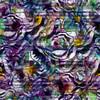 Geometric Digital Floral Abstract (Original)