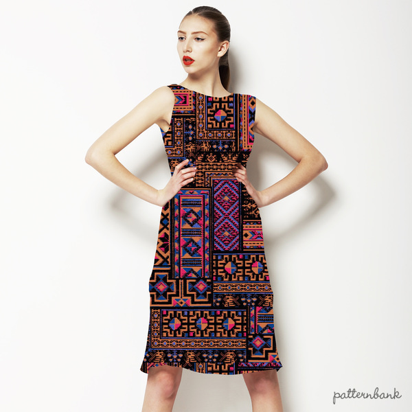 Vk168 Ethnic Patchwork