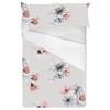 Photoreal Vector X-Ray Floral Square Repeat (Bed)
