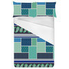 Ethnic Patchwork Geometric Repeating Border Stripe (Bed)