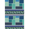Ethnic Patchwork Geometric Repeating Border Stripe (Original)