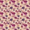 Mixed Media Allover Pink Floral (Original)