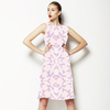 Pastel Snowflake Tile Print (Dress)