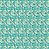 Allover Abstract Blue Turquoise 4-Color Vector Print (Original)