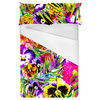Bright Tropical Summer Floral (Bed)