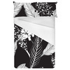 Lithograph Stories - Monochrome Illustrations Floral (Bed)
