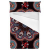 Indian Seamless Pattern. Geometric Ornament (Bed)
