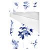Pale Blue Watercolour Floral (Bed)