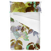Autumn Plants Foliage Green Leaves Pattern (Bed)