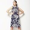 Linear Floral 2 (Dress)