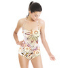 Ethnic Pattern With Watercolour Effect (Swimsuit)