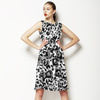 Ink Leopard Skin Camo Monochrome (Dress)