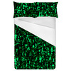 Abstract Camouflage Texture Textile Pattern (Bed)