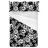 Mini Hand Drawn Black and White Flowers (Bed)