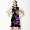 Vintage Purple Flowers (Dress)