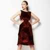 Vintage Red Flowers (Dress)