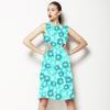 Blue Ditsy (Dress)