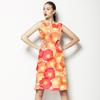 Red-Orange Field (Dress)