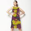 Bold Folliage and Flowers (Dress)