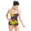 Bold Folliage and Flowers (Swimsuit)