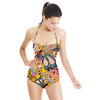 Multicoloured Ethnic Digital Paisley (Swimsuit)