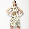 Flowers Pattern. Floral Backdrop (Dress)