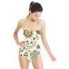 Flowers Pattern. Floral Backdrop (Swimsuit)
