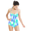 Neon Brush Strokes (Swimsuit)