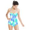 Neon Brush Strokes (Swimsuit)