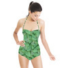 Green Tree Pattern (Swimsuit)
