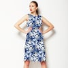 Abstract Pattern With Graphic Elements. (Dress)