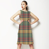 Earthy Check (Dress)