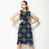 Blue and Golden Tiles (Dress)