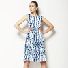 Indigo Watercolour Strokes (Dress)