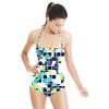 Camo Geometric. (Swimsuit)