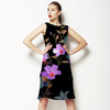 Midnight Garden Retro Flowers (Dress)