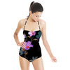 Midnight Garden Retro Flowers (Swimsuit)