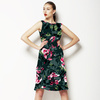 Photographic Floral - Distressed Pink Roses (Dress)