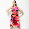 AW1617 Midnight Garden Red Floral Vector (Dress)